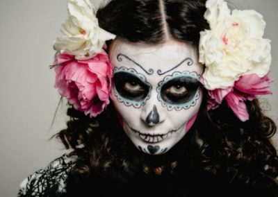 Halloween make-up  27 Octubre 17