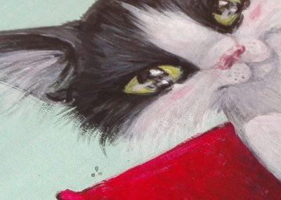 Una de robots y gatitos_Aintzane Cruceta