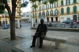 5_Estatua bronce Picasso_Plza Merced (1)